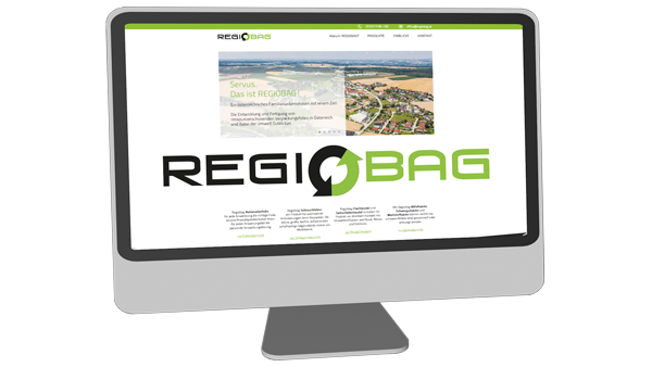Regiobag - Website
